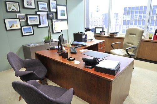 Interieur van de serie suits kantoor inrichten idee n for Kantoor interieur ideeen
