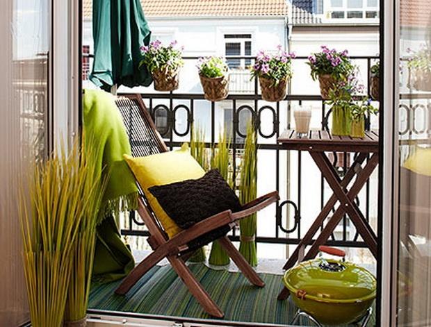 Inrichten balkon