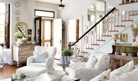 witte woonkamer inrichten inspiratie met witte meubels en inrichting
