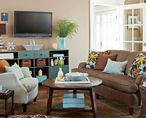 Flamant kleuren woonkamer for - Stapelbed kleine kamer ...