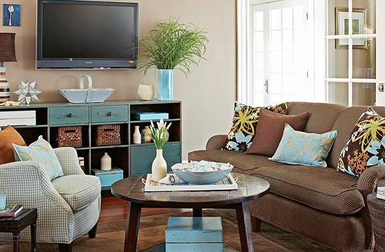 inspiratie voor het inrichten van een kleine woonkamer, Meubels Ideeën
